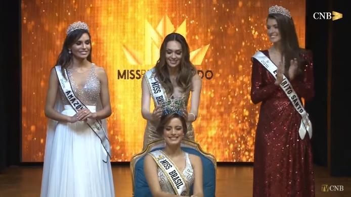 Piauiense Jéssica carvalho vence Miss Brasil Mundo 2018