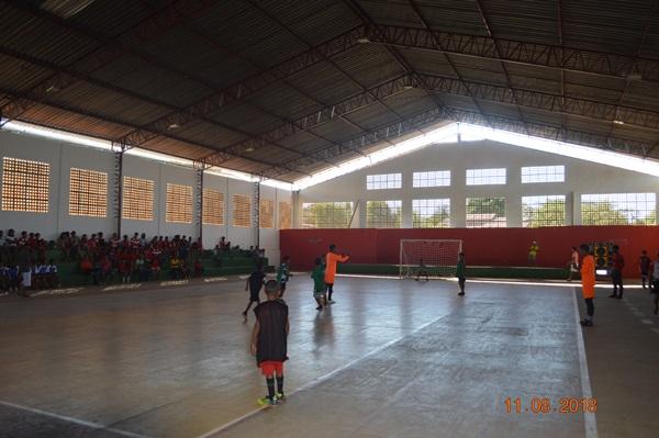 Jogos escolares em Colônia do Gurgueia