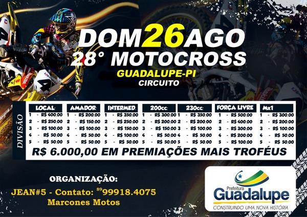 Prefeita Neidinha Lima define programação e premiação do Motocross