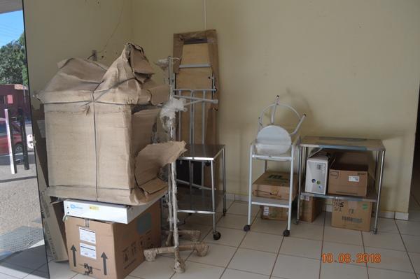 Prefeitura de Colônia do Gurgueia comprou novos equipamentos para UBSs da sede e das comunidades