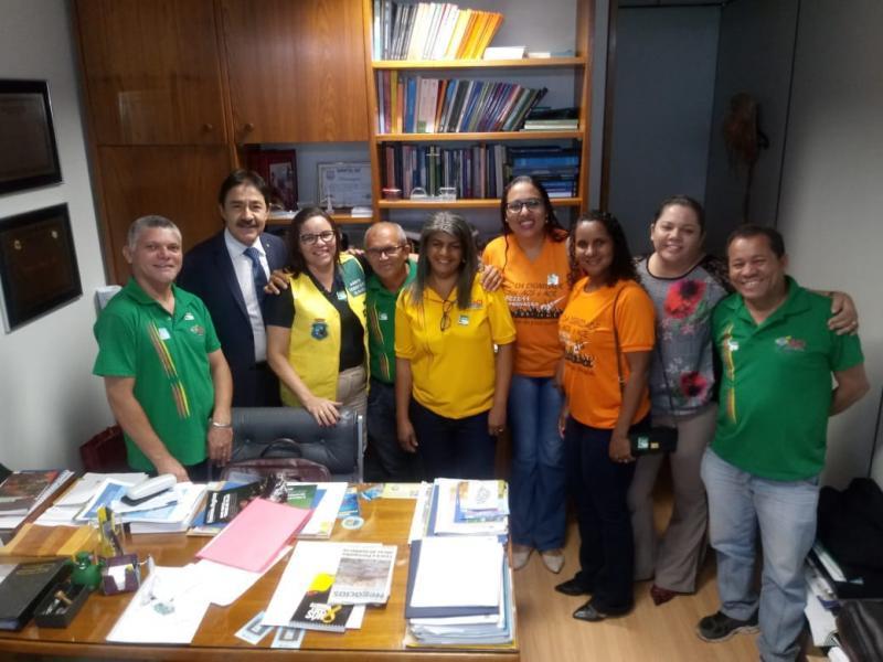 Representantes  dos ACE e ACS estão em Brasília correndo contra o tempo pra sancionar a MP 827.