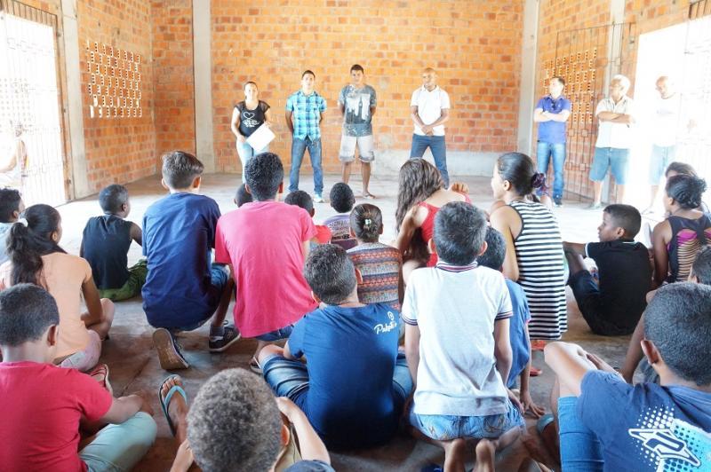 Mirim Cidadão inicia suas atividades em São Pedro do Piauí