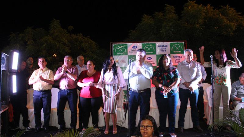 Gilmar Fontes toma posse como presidente do STTR de Oeiras