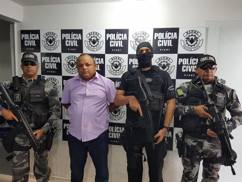 Empresário é preso em Teresina acusado de liderar grupo criminoso