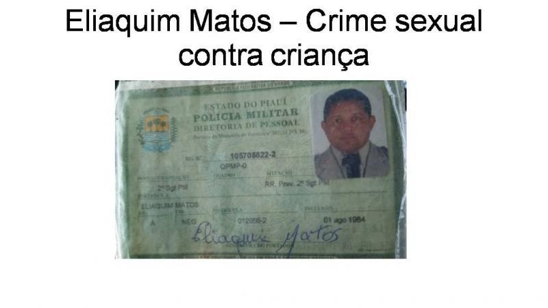 PM é preso acusado de abuso sexual contra criança no Piauí