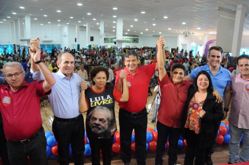 Coligação de Wellington Dias formaliza registro de candidatura
