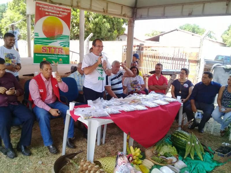 Prefeitura de Nazária realizou II Feira da Agricultura