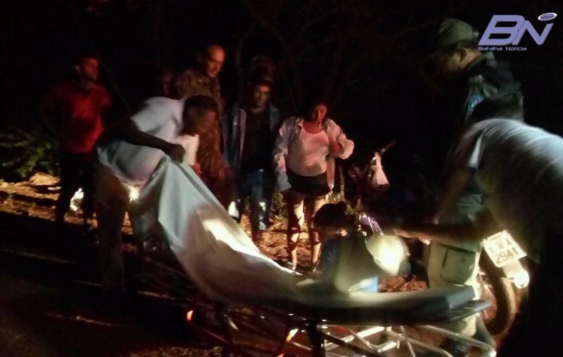 Acidente na BR-222 em Batalha deixa mulher ferida