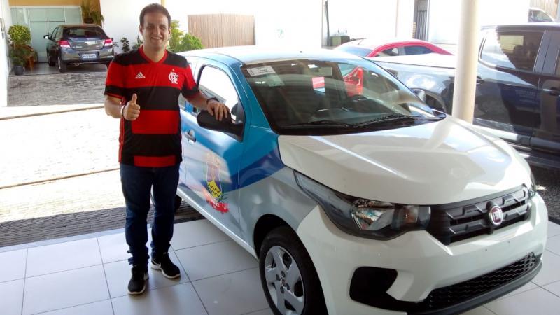 Prefeito Diego Teixeira anuncia aquisição de veículo para a Saúde de Amarante