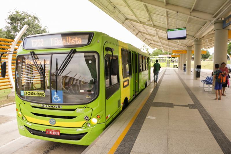 Frota de ônibus será reduzida devido ao feriado em Teresina