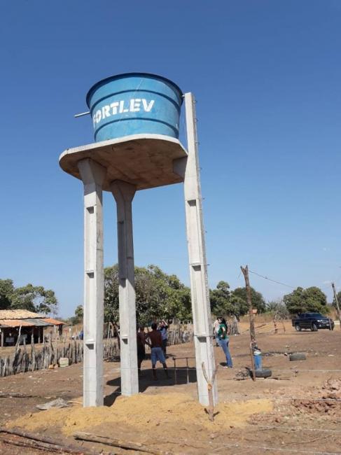 Secretaria de Desenvolvimento Rural instala sistema de abastecimento de água na zona rural