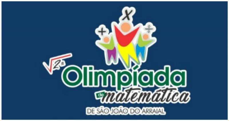 Confira o resultado da 1º fase da 2º Olimpíada Municipal de Matemática de São João do Arraial
