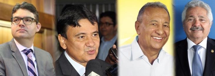 Primeiro debate com candidatos a governador do Piauí acontece nesta quinta