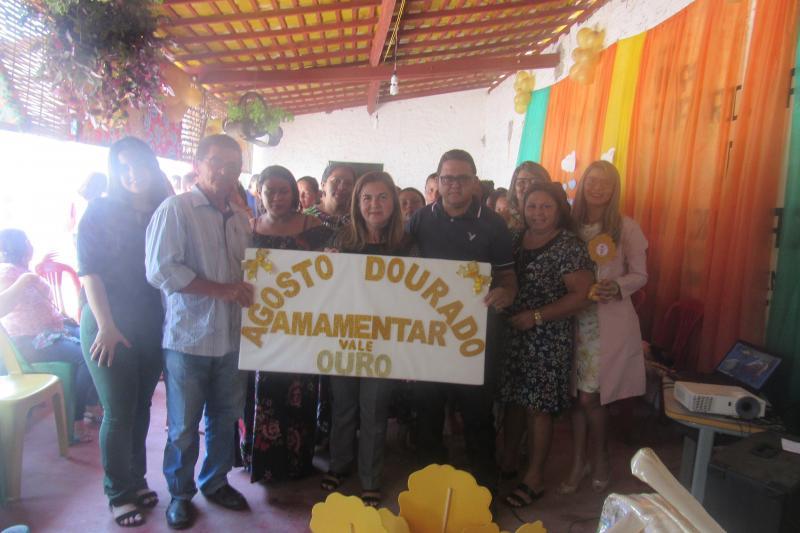 Prefeitura e Secretarias reunem dezenas de gestantes no CRAS em São João do Arraial