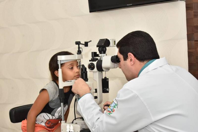 Secretarias de Educação e Saúde realizam parceria para cuidar da visão de estudantes