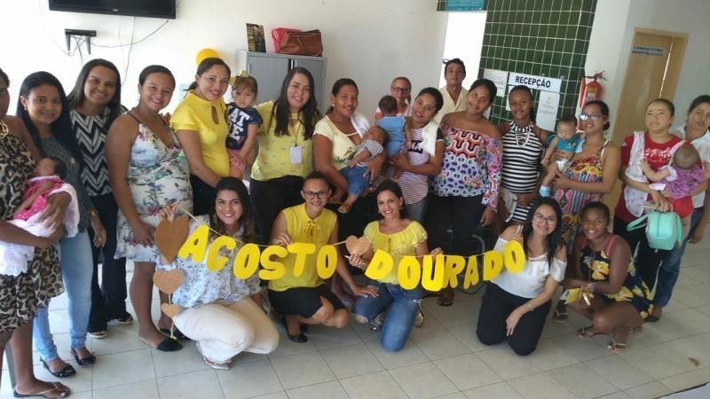 Agosto Dourado enfatiza a importância do aleitamento materno em Amarante