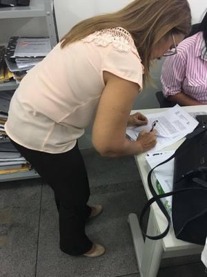 Prefeita firma novo Convênio para mais de 6 mil metros quadrados de calçamento
