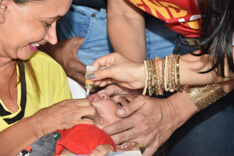 Campanha Nacional de Vacinação contra Poliomielite e Sarampo tem abertura em Floriano