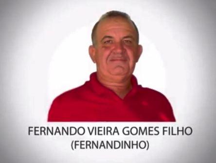 Câmara aprova homenagem a Fernandinho Vieira