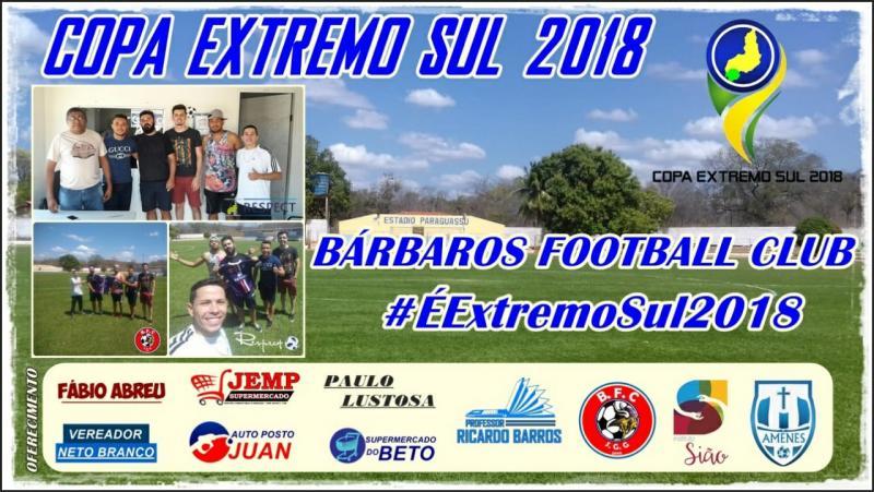 Bárbaros Futebol Clube é o mais novo participante da Copa Extremo Sul de Futebol