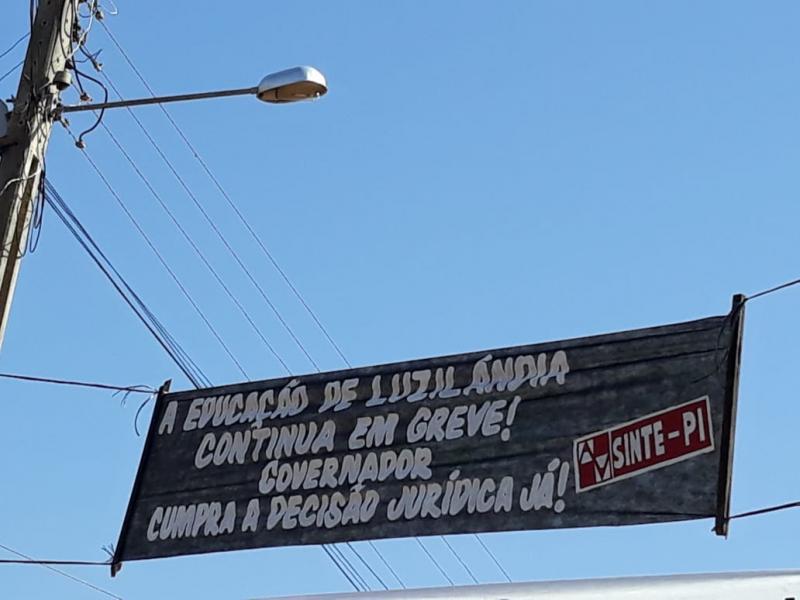 Governador Wellington Dias e seus candidatos são hostilizados em Luzilândia