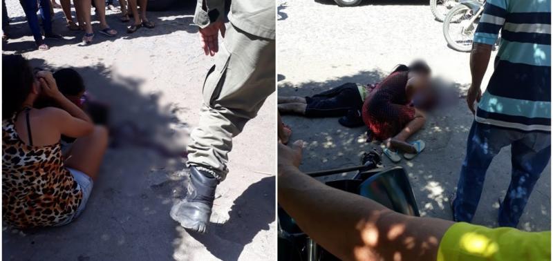 Mãe é baleada e filho é morto no município de Pio IX