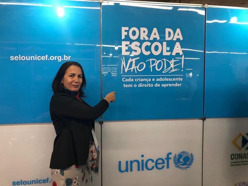 Demerval Lobão | Secretária de educação participa de Fórum Nacional Extraordinário em Recife
