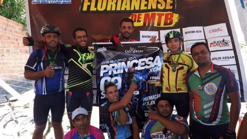 Atleta de Gilbués participa da 6ª etapa do campeonato Florianense de MTB