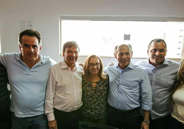 Prefeita Neidinha participa de encontro do G13 em Uruçuí