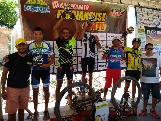 Colônia do Gurgueia: 3 lugares no pódio da 6ª etapa do Campeonato Florianense de MTB