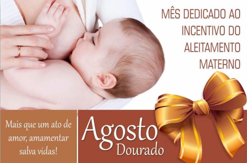 Secretaria de Saúde dá início às ações do 'Agosto Dourado' com palestra sobre aleitamento materno