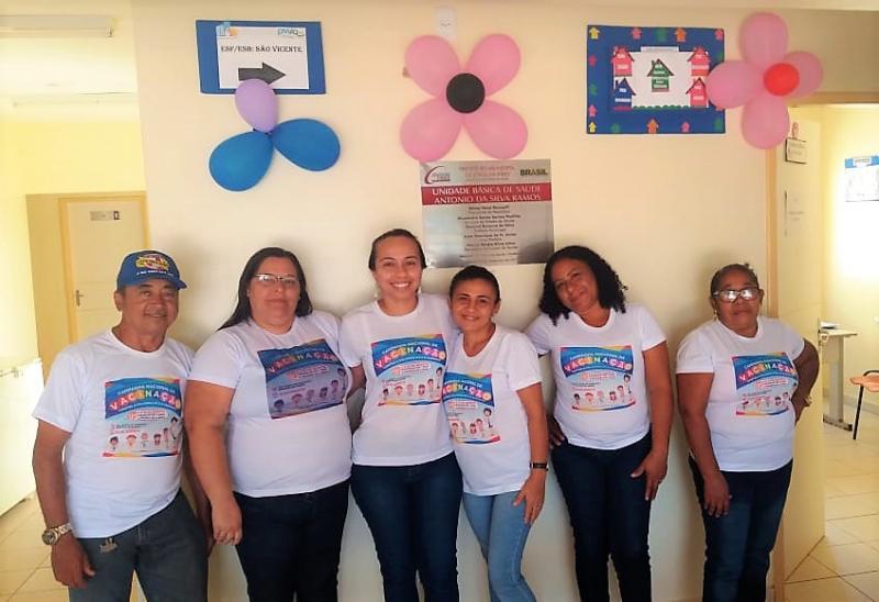Secretaria Municipal de Saúde realiza dia D de vacinação contra Poliomielite e Sarampo