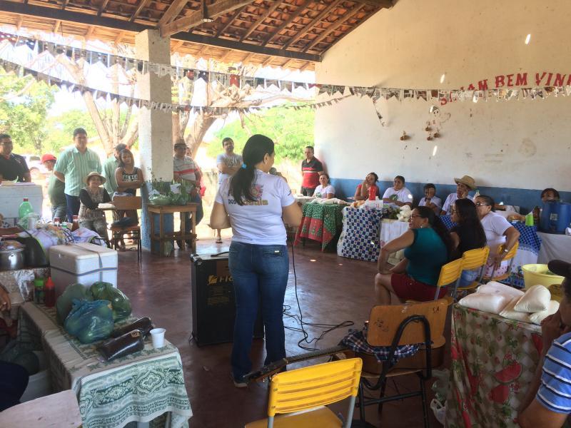 STTR de Batalha e parceiros realizaram feira da agricultura familiar na Cortada
