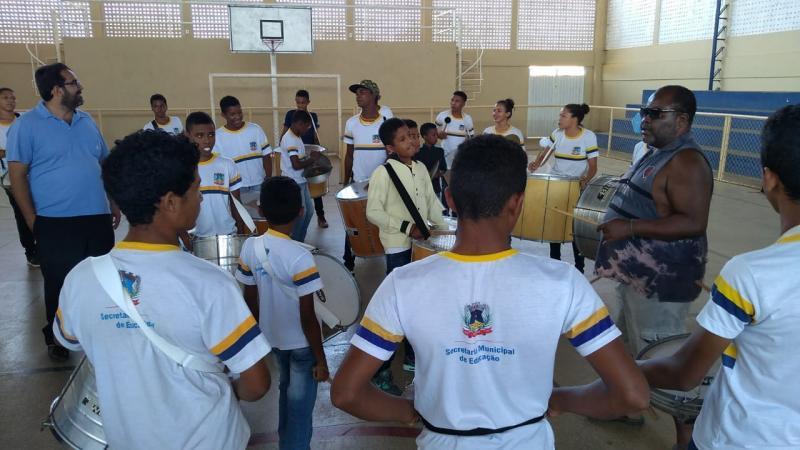 Escolas de Amarante iniciam ensaios para o Desfile Cívico de 7 de Setembro