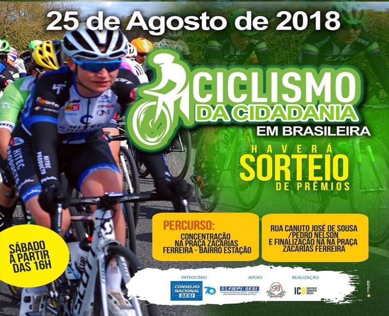 Participe do Ciclismo da Cidadania em Brasileira