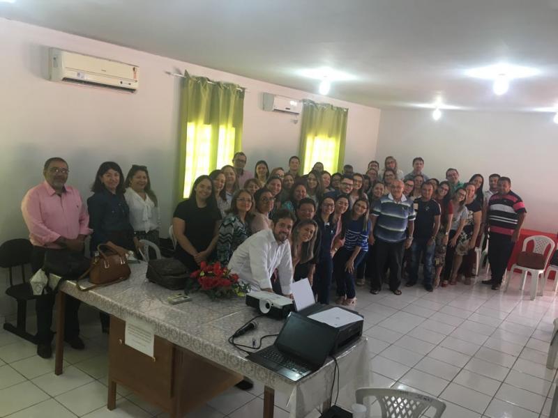 Secretários de Saúde do territórios dos cocais se reuniram em Brasileira
