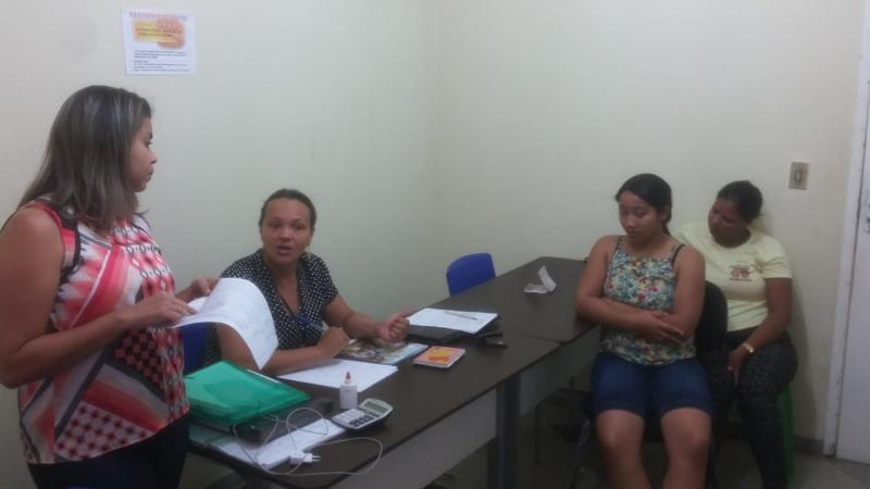 Secretária de assistência social se reuniu com conselheiras tutelares do município