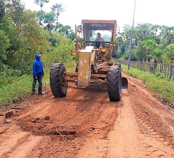 Prefeitura de Joaquim Pires realiza recuperação de estradas vicinais