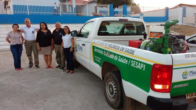 Carro fumacê intensifica combate ao Aedes Aegypti em bairros de Amarante