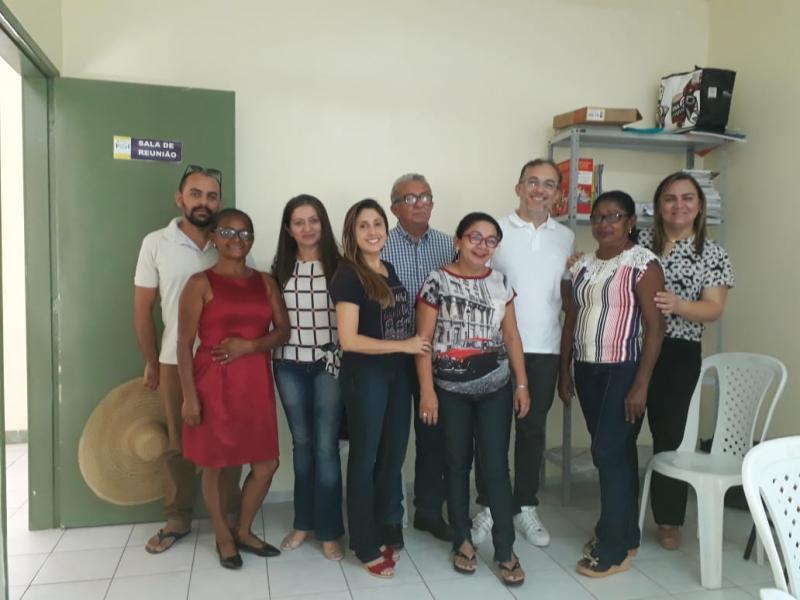 Equipe de saúde bucal reuniu-se nesta quarta-feira