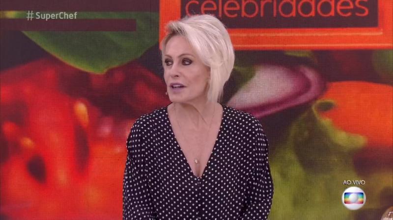 Ana Maria Braga comete gafe durante o SuperChef: