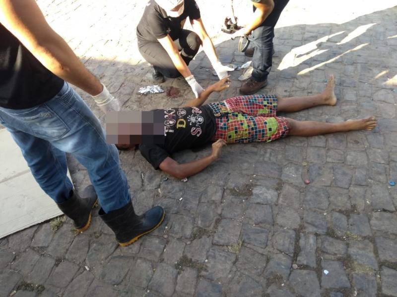 Morador de rua é morto próximo ao Banco do Brasil