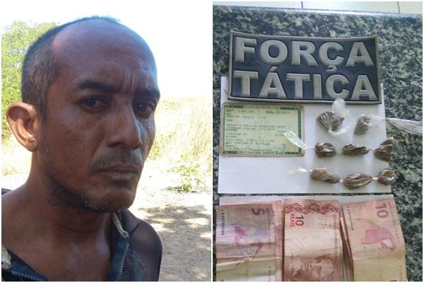 Pai é preso por se aproveitar de filho menor para vender droga no PI