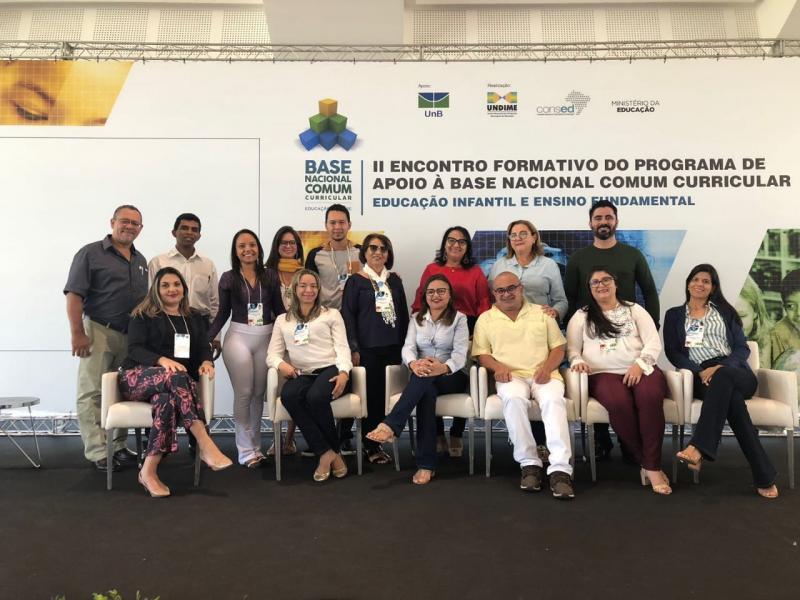 Água Branca participa de II Encontro Formativo da Base Nacional Comum Curricular em Brasília