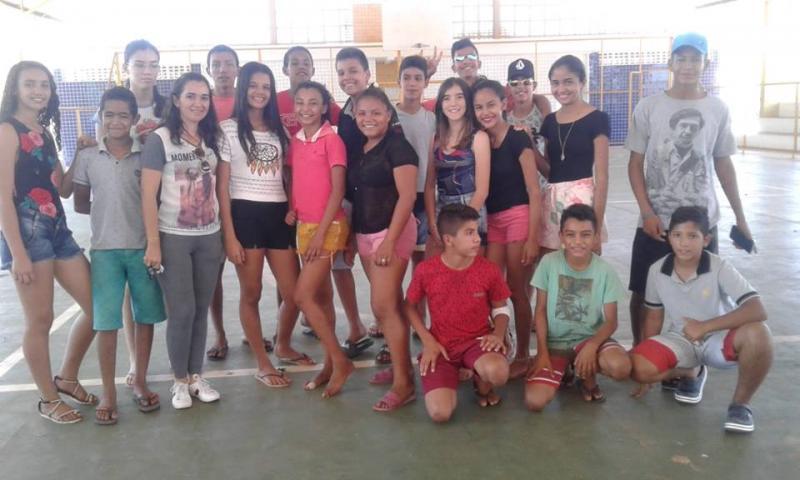 Prefeitura juntamente com o NUCA realiza esporte inclusivo em Pau D'Arco