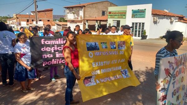 APAE de Colônia do Gurgueia realiza caminhada na Semana Nacional da Pessoa com Deficiência