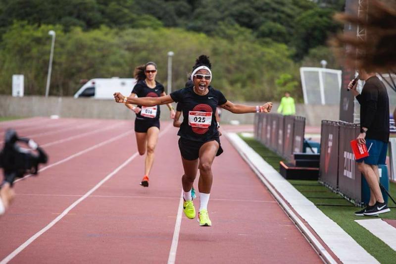 Atleta Olhodaguense é a segunda mais rápida de São Paulo