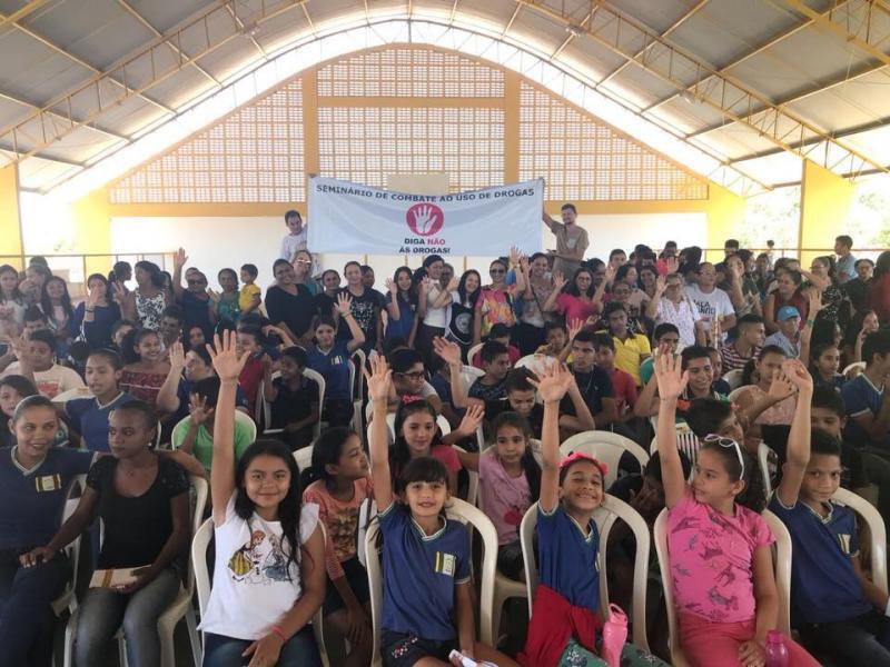Primeiro seminário sobre drogas é realizado em Pau D'Arco