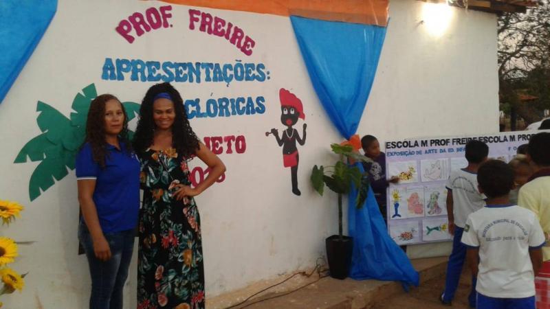 Projeto Cultura e Cidadania realiza ações culturais em Floriano