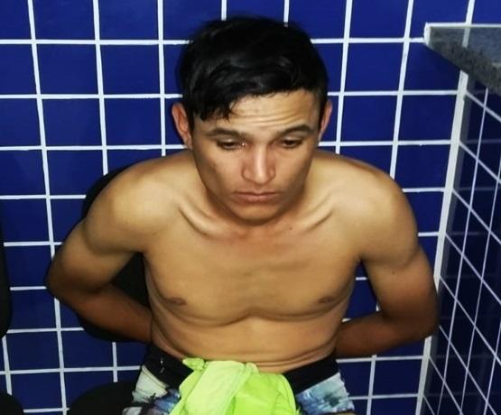 Jovem é preso por tráfico de drogas corrupção de menor no Piauí